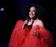 Diana Ross Performs no concerto fotografia de stock royalty free