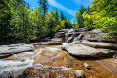 Diana's Baths New Hampshire. Diana's Baths, a series of small waterfalls in the White Mountains of New Hampshire, United States royalty free stock photo