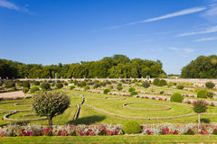 Diana S Garden From Chenonceau Chateau Royalty Free Stock Photos