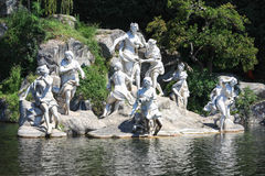 Free Diana Sculpture Group In The Casade Of Caserta Royalty Free Stock Photography - 36409617