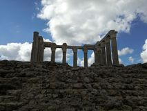 Diana-Tempel stockbilder