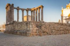 Diana tempel fotografering för bildbyråer