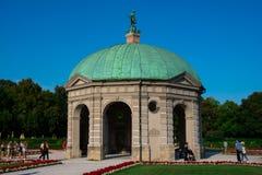 Diana Temple at Court Garden Hofgarten. Munich, Germany. August 21, 2018. Diana Temple at Court Garden Hofgarten stock photos