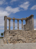 Diana temple Evora Royalty Free Stock Images