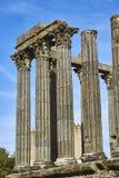 Diana temple in Evora, Alentejo. Portugal. Stock Photos