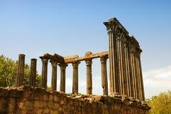 Diana Temple in Evora Stock Image
