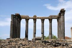 Diana Temple in Evora Stock Photos