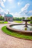 Diana temple in Hofgarten park in Munich. In spring, Germany stock photos