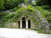 Dianas洞穴。Pyatigorsk地标,北Caucas 库存照片