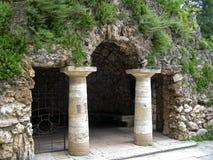 Dianas洞穴。Pyatigorsk地标,北Caucas 免版税图库摄影