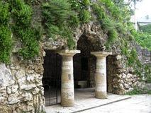 Dianas-Grotte. Pyatigorsk-Marksteine, das Nord-Caucas Lizenzfreies Stockfoto