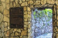 Dianas Grotto Στοκ Εικόνα