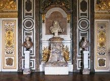 Dianas salong på den Versailles slotten Royaltyfri Bild