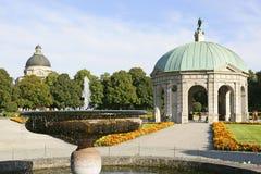 Dianatempel in the Hofgarten, Munich, Bavaria. Hofgarten Court Gardens and Dianatempel, Temple of Diana, Munich, Bavaria, Germany, Europe stock photography