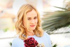 Diane Kruger imagem de stock