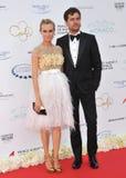 Diane Kruger & Joshua Jackson Royalty Free Stock Image