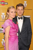 Diane Kruger,Joshua Jackson Royalty Free Stock Photography