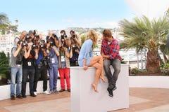 Diane Kruger, Matthias Schoenaerts imagem de stock