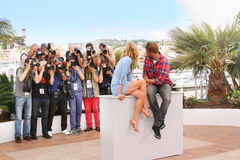 Diane Kruger, Matthias Schoenaerts Stock Image