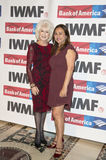Diane Rehm. Lifetime Achievement award-winner, broadcaster Diane Rehm, is joined by Nadia Bilbassy-Charters at the International Women`s Media Foundation`s Stock Images