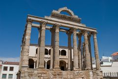 diane s tempel Arkivfoto