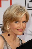 Diane Sawyer royaltyfria bilder