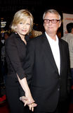 Diane Sawyer and Mike Nichols Royalty Free Stock Image