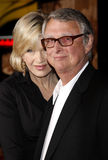 Diane Sawyer and Mike Nichols Stock Images