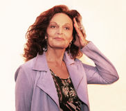 Diane von Furstenberg Stock Photography