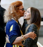 Diane von Furstenberg, Sarah Jessica Parker Royalty Free Stock Images