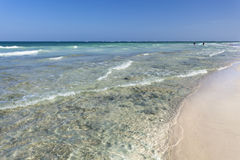 Diani Beach, Kenya. Beautiful Diani Beach near Ukunda, Kenya Stock Image