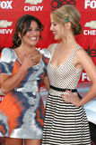 Dianna Agron, Lea Michele Royalty Free Stock Images