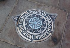 the dianna princess of wales memorial walk royalty free stock images