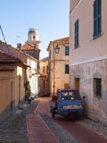 Diano Castello, Roads and streets stock image