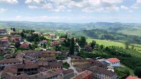 ` Diano d alba in Piemont-Region in Nord-Italien stock video