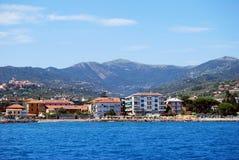 Diano Marina - Evigno S Peak Stock Image