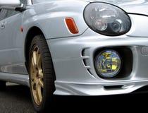 Dianteiro-luz do carro Imagem de Stock Royalty Free