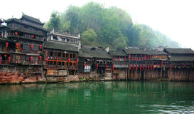 Diaojiao houses in old town Royalty Free Stock Photos