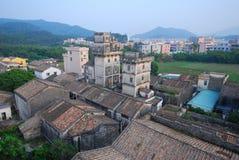 Diaolou no Sul da China Foto de Stock
