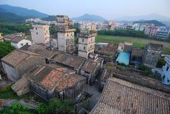 Diaolou no Sul da China Imagens de Stock