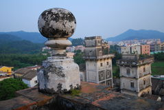 Diaolou no Sul da China Imagem de Stock Royalty Free