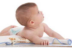 Diaper baby Royalty Free Stock Photography