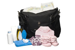 Diaper Bag royalty free stock photography