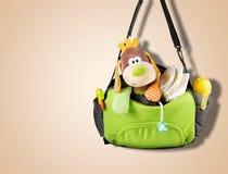 Diaper bag Stock Image