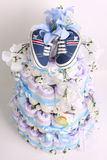 Diaper cake royalty free stock photo