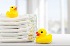 Diaper Stock Image