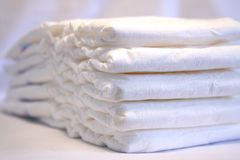 Diapers royalty free stock photography