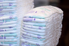 Diapers stock image