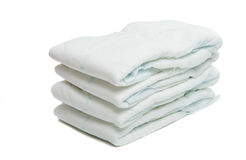 Diapers isolated Stock Photos