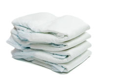 Diapers isolated Stock Image
